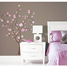 RoomMates RMK1555GM Spring Blossom Peel and Stick Giant Wall Decal