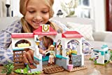Mega Bloks American Girl Nicki's Horse Stables Construction Set