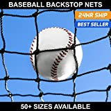 Net World Sports Baseball Backstop Nets - 50 (10. 14' x 14')