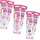 Scentco Num Noms Eraser Bundle - 18 Scented Erasers - Strawberry, Mint Chocolate, and Orange