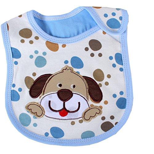 [Dog Newborns Infant 0-3 Years Baby Bibs Infant Saliva Towels Newborn Wear Burp Cloths] (Blues Brothers Costume Hat)