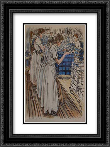 Used, Candle Factory 18x24 Black Ornate Frame and Double for sale  Delivered anywhere in Canada