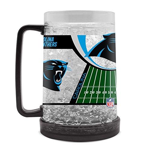 NFL Carolina Panthers 16oz Crystal Freezer Mug