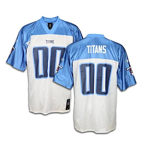 Tennessee Titans Mens NFL Mid Tier Team Jersey, White (Large)