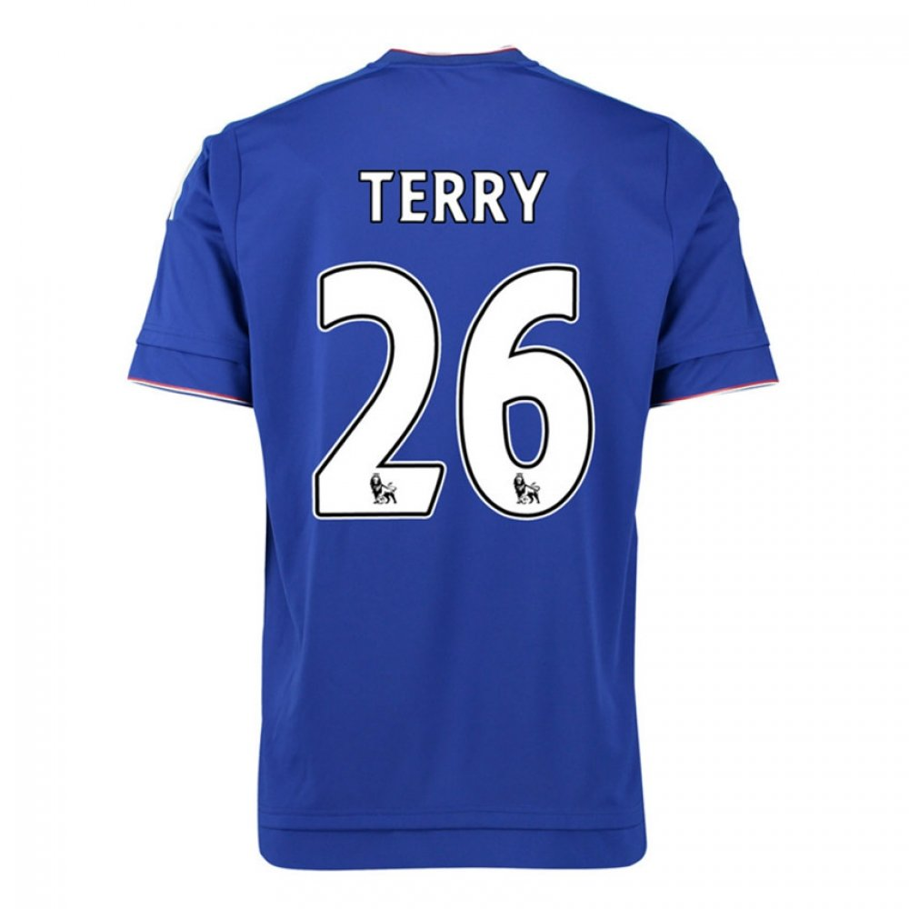 2015-16 Chelsea Home Shirt (Terry 26) B077VN6KPYRed Small 36-38\