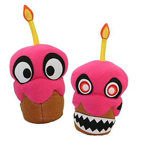 Phantom Freddy Costume - Baby Chica Nightmare Cupcake Horror Front & Back 16