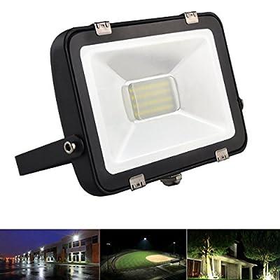 LED Anti-dazzle Flood Light Waterproof Outdoor Garden Spot Lamp AC200-240V (Watt 20W Color White)