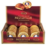 Mozart Taler Coins Chocolate, 48 Pieces with Total 960 Grams in one BOX, Mirabell Salzburg