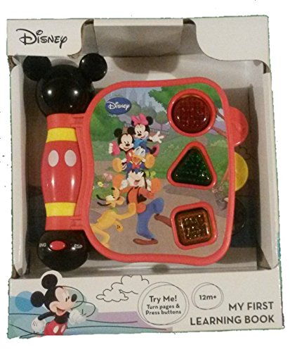 (Mickey Mouse Clubhouse, Mickey's My First Learning Book Lights and Sounds (styles may vary))