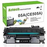 Aztech 1 Pack 05A CE505A Compatible 05A Toner Cartridge Replaces for HP 2035 HP 05A CE505A HP Laserjet P2055DN P2035N P2055D P2055X Laserjet P2055 P2035 P2030 P205 2035 2055 Toner Ink Black