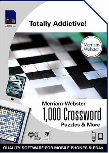 Merriam-Webster 1000 Crossword Puzzles & More (P10933U)