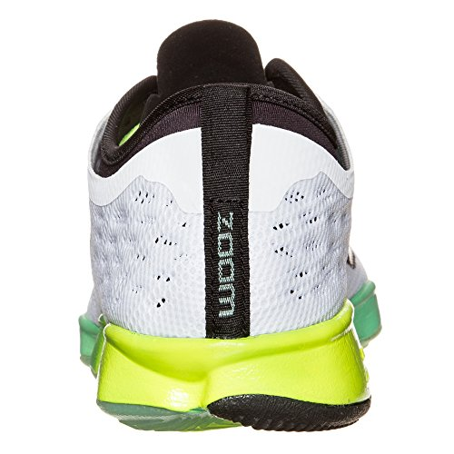 Shoes Nike Black Agility White Zoom Glow Fit Womens Green Indoor Court axAfHxqw