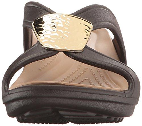 Snrhembllshdwdg Bronze Thongs WoMen Gold Silver Black Crocs Schwarz Gold Metallic Pwgqc4