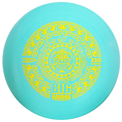 200g Gift (Innova Big Kahuna 200g Ultimate Catch Disc - Tiki - Blue (Stamp Color Varies))