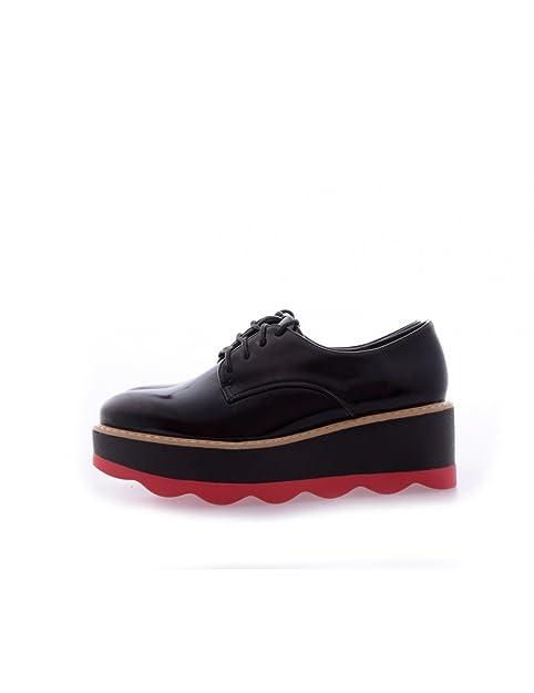 separation shoes b6593 365fd Studio Creazioni Stringate Donna Danielle Nero: Amazon.it ...