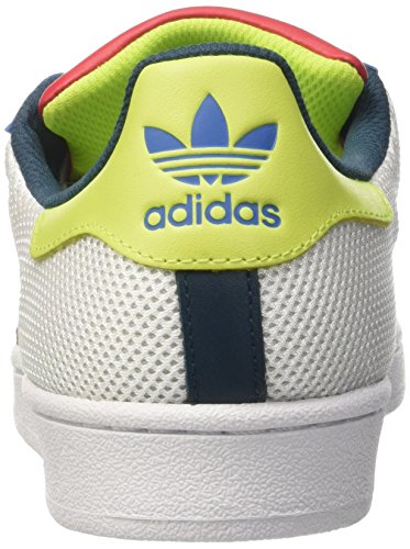 2015 new cheap price low price cheap price adidas Superstar - B42624 White-red-blue clearance great deals latest sale online vKx31PmnD