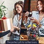 Porta-Cialde-Porta-capsule-Nespresso-Design-Originali-Nero-Nespresso-Dolce-Gusto-Lavazza-Bialetti-Porta-Capsule-Accessori-per-caffe-perfetto-Grande-capacita-70-pz-Abbellisci-la-tua-cucina