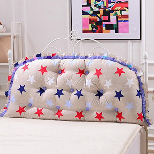 (Cushions Headboard Border-Radius Bed Backrest Positioning Support Pillow Bed Soft Bag,8 Colors 4 (Color : 2, Size : 20065cm) )