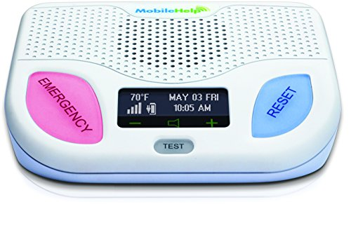 MobileHelp Classic - Home Medical Alert System for Seniors. Remotely Activated, Cellular...