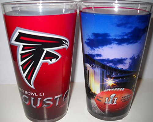 super bowl pint glass set - 2