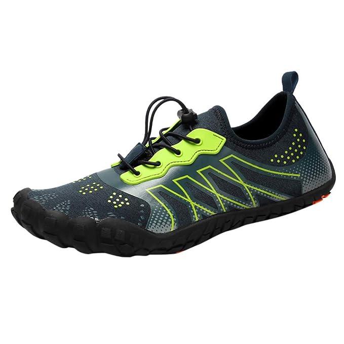 Amazon.com: Zapatillas de agua unisex, tamaño 5 – 7,5, para ...