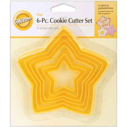 (Wilton Set of 6 Nesting Star Cutters)