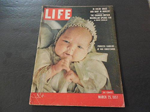 Life Mar 25 1957 Grace Kelly Spits One Out; Yogi Berra; - Glasses Kelly Grace