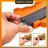 Contour Gauge With Adjustable Lock - Precise