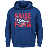 """Chicago Cubs Blue 2016 National League Champions Youth """"Raise The Flag"""" Pullover Hoodie"""