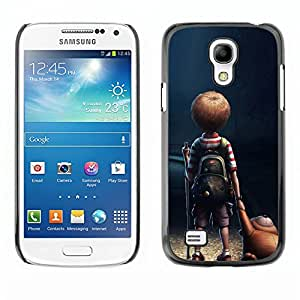 "For Samsung Galaxy S4 Mini (NOT for regular S4) , S-type Soledad Boy"" - Arte & diseño plástico duro Fundas Cover Cubre Hard Case Cover"