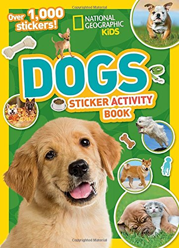 College Girl Halloween (National Geographic Kids Dogs Sticker Activity Book (NG Sticker Activity Books))