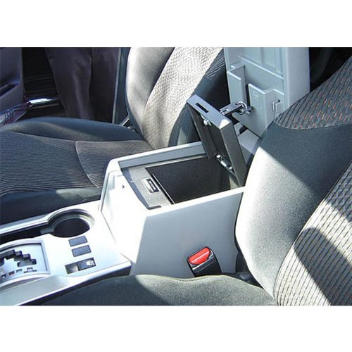 Console Vault Toyota 4 Runner Floor Console 2010-2013 - 1037 - Massive 12 Gauge Cold Rolled Plate Steel, Welded Tab And Notch Seams - Superior 3 Point Locking System Resists Prying - Drill Resistant Locks - Easy 10 Minute Installation