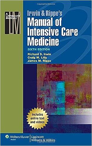 Intensive Care Medicine Pdf