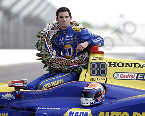 Alexander Rossi 2016 Indianapolis INDY 500 Winner 8x10 - The 500 Of Winners Indy