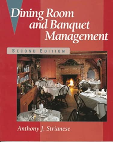 dining room and banquet management anthony j strianese rh amazon com Dining Room Nook Dining Room Furniture
