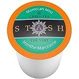 Stash Tea Moroccan Mint Green Single-Cup Tea for Keurig K-Cups Brewers, 12 Count