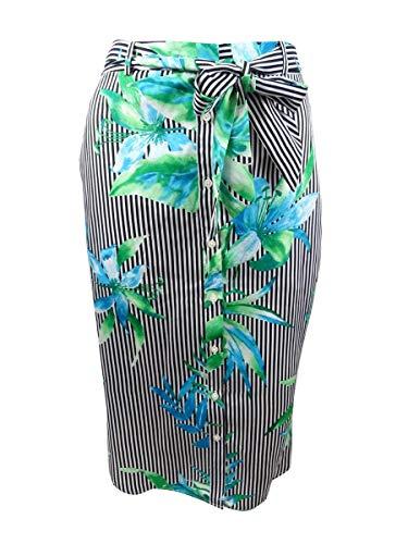 LAUREN RALPH LAUREN Women's Floral-Print Twill Skirt (0, Multi) - Skirt Lauren Print Ralph