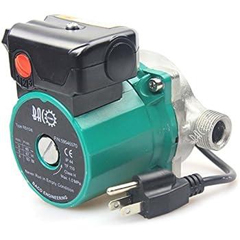 Bacoeng 3 4 Quot 110v Npt Hot Water Circulation Pump