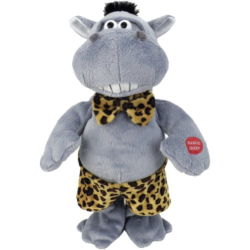 Johnson Smith Co. Hunky Hippo Do Ya Think I'm Sexy Animated Dancing Plush Stuffed Animal Toy ()