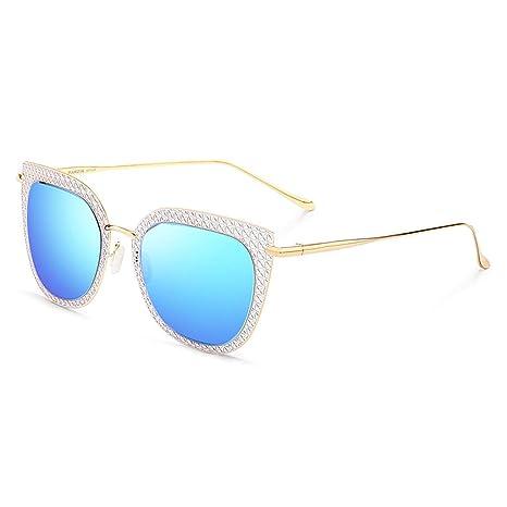 Gafas de sol Aviador Vogue UV Running Montura metálica para ...