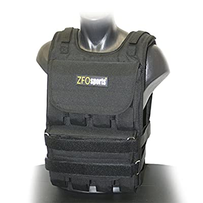 ZFOsports Weighted Vest 40lbs/60lbs/80lbs from ZFOsports
