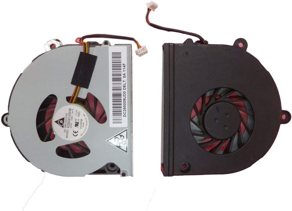 Laptop CPU Cooling Fan for Toshiba Satellite P775 P770 P775-S7100 KSB06105HB-AK1X New