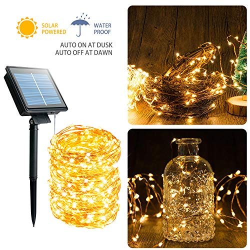 Outdoor Solar Fairy Lights 200 in US - 3