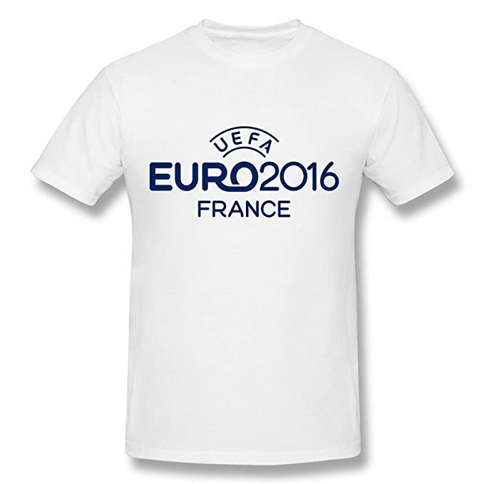 Amazon.com: Maven Mens UEFA Euro 2016 France Football Logo ...