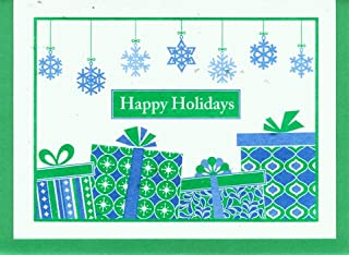 product image for Grow A Note® Holiday Snowflake & Presents Card 4-Pack