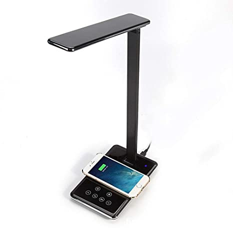 Lámpara de escritorio LED Mesa plegable Luz Oficina QI ...