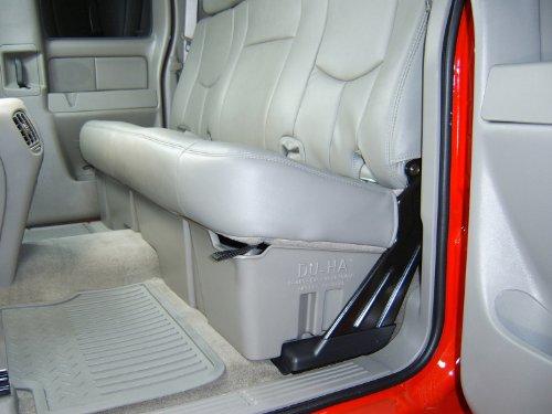 DU-HA Under Seat Storage Fits 99-07 Chevrolet/GMC Silverado/Sierra Extended Cab, Lt Gray, Part #10002