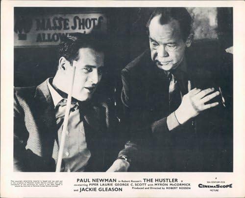 Paul Newman la Hustler con taco de billar Original vestíbulo ...