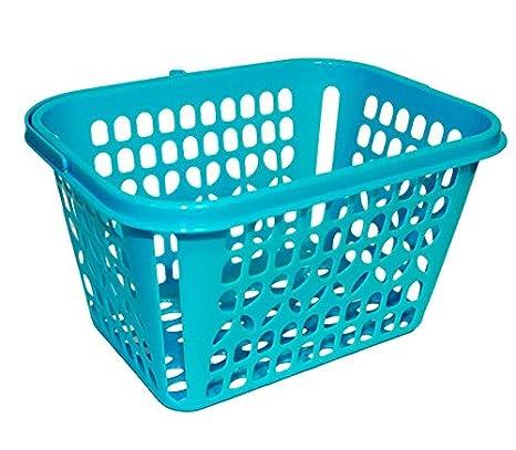 100% de alta calidad tienda del reino unido gran venta Cesta de plástico Azul para Las Pinzas de la Ropa: Amazon.es ...