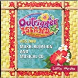Outrigger Island: Music Rotation and Musical CD - VBS 2008 (Christian Split-Track CD)